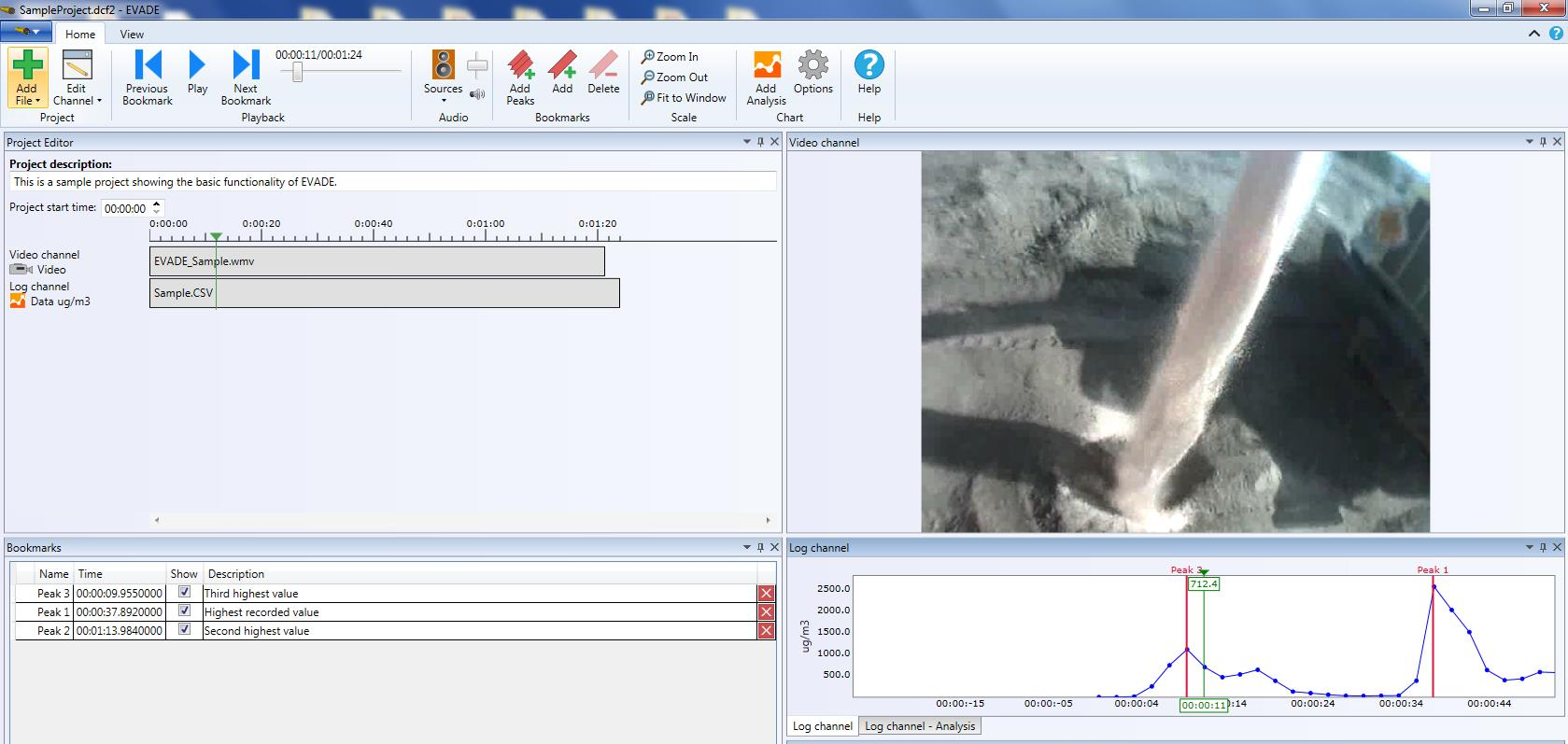 Enhanced Video Analysis of Dust Exposures (EVADE) Software Program
