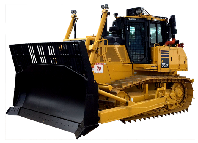 Dozers with Cab Filtration System