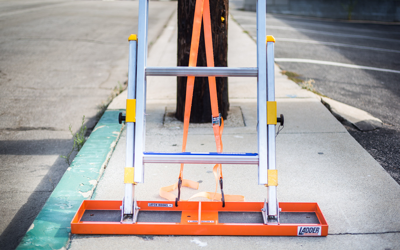 Ladder Safety Base System